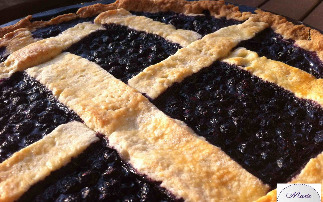 tarte aux myrtilles la recette blueberry. Black Bedroom Furniture Sets. Home Design Ideas