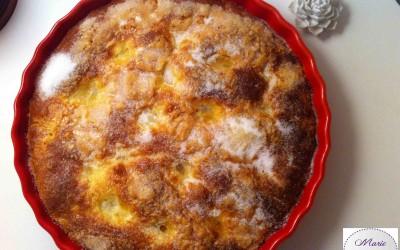 Tarte au sucre briochée… En voilà une qui n'est pas tarte du tout !
