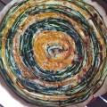Tarte spirale aux deux courgettes - la recette