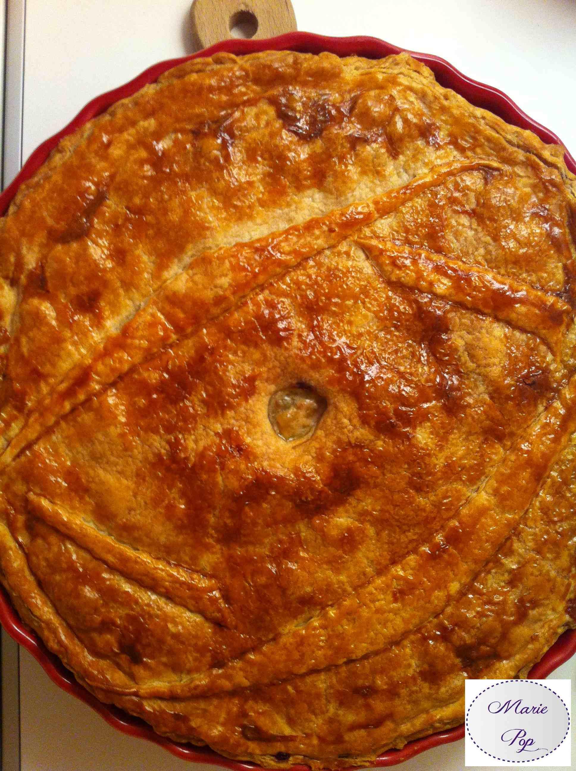 Tourte noix de Saint Jacques et Cabillaud - la recette