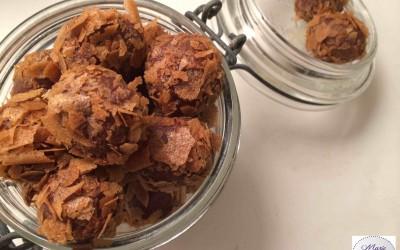 Jolies truffes croustillantes… Irrésistible !