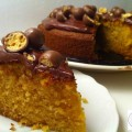 Gâteau à la vanille et billes de Maltesers - la recette