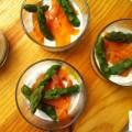 Verrine fraicheur aux asperges - la recette