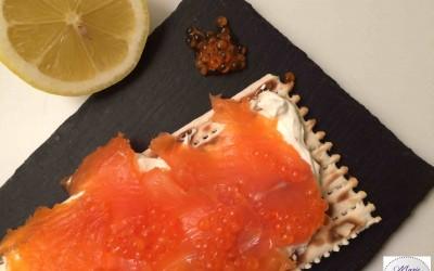 Tartine suédoise au saumon – Bonne résolution #6 : Avoir la knujt attitude !