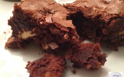Brownies chocolat blanc et noix de pécan Bonne résolution # 12: Dire «Hum» tous les jours !