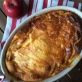 Far aux pommes et son filet de caramel beurre salé - la recette