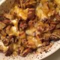 Pommes de terre méga cheesy
