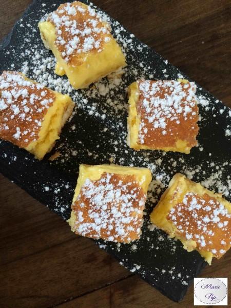 Carrés au citron - la recette