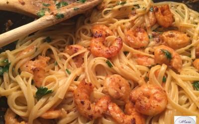 Crevettes Bang-Bang… et les assiettes dansent !