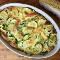 Gratin de courgettes au parmesan - la recette