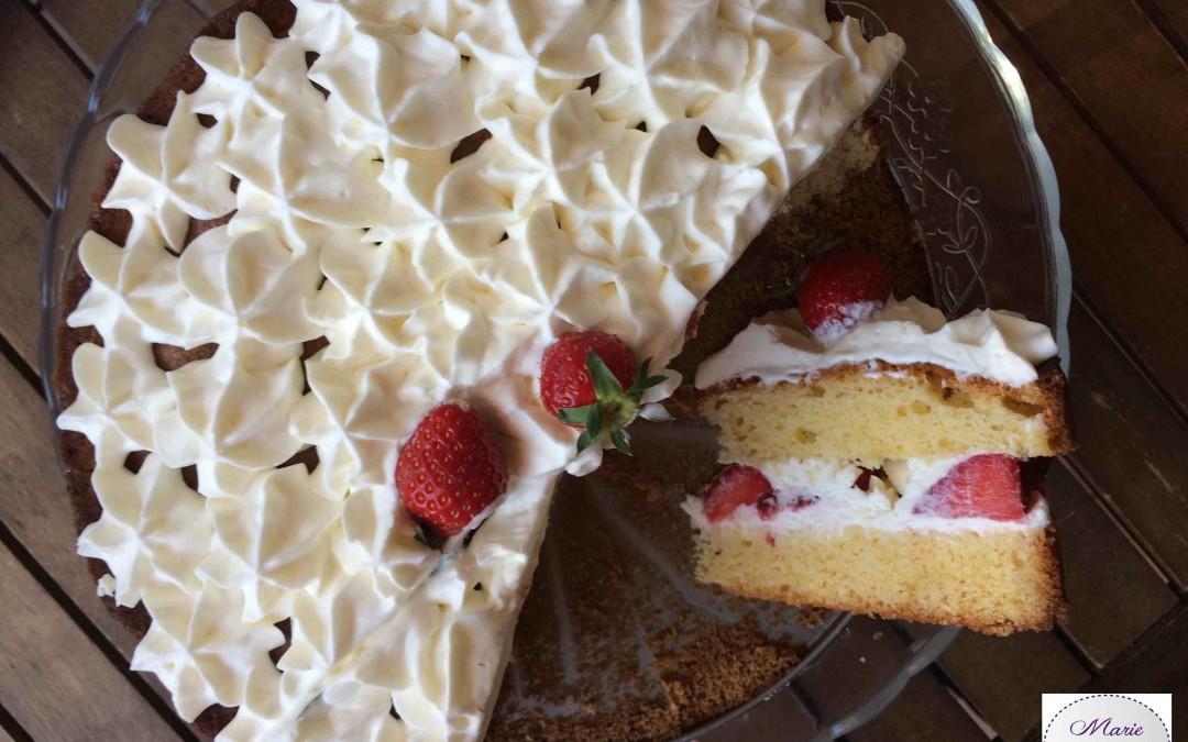 L'époustouflant aux fraises… Aussi facile que beau !