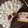 L'époustouflant aux fraises : gâteau fraises chantilly - recette