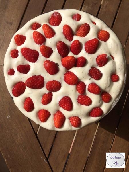 Trifle aux fraises - une recette comme un pêché de gourmandise