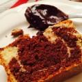 cake marbré chocolat vanille - recette