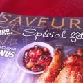 saveurs speciales fetes 2012