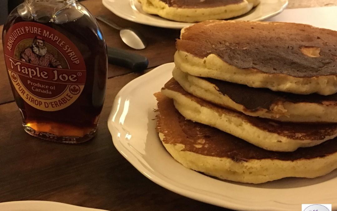 Les pancakes de Grandma Davenport