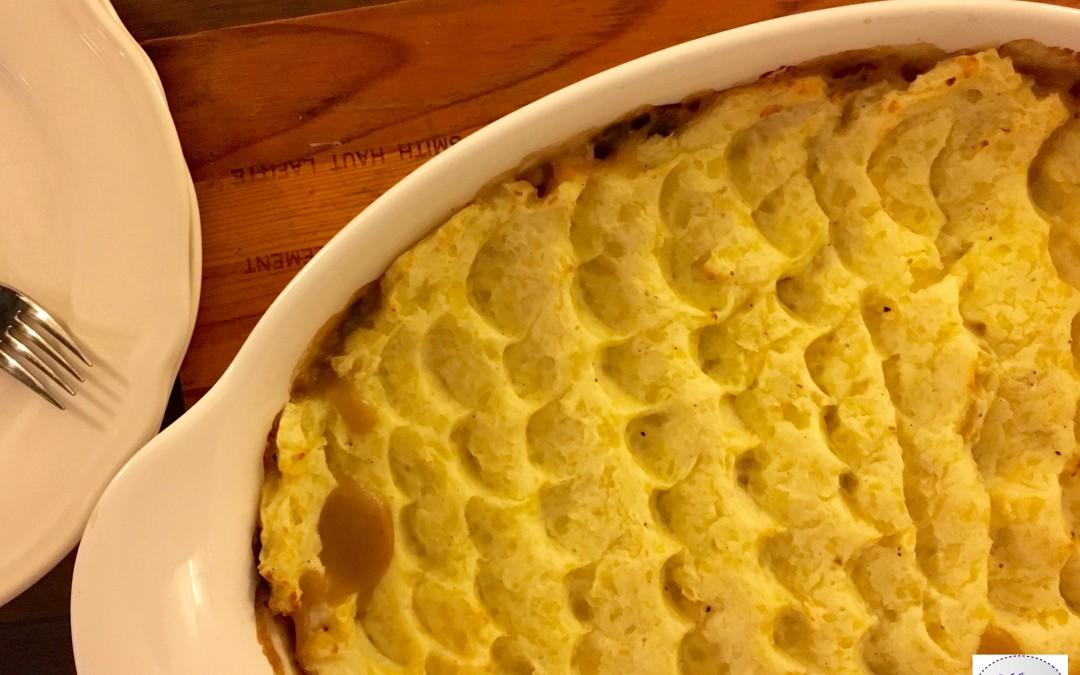 Fish Pie comme un parmentier de poisson trop trop bon !
